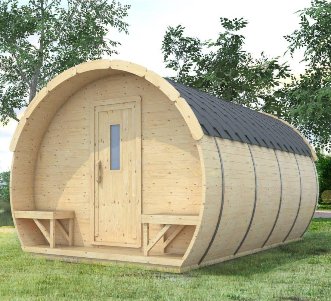 Garden Studio Cabin Backyard Shed Granny Flat Tiny House 4 8m X 3m Ebay Backyard Shed Sauna Design Garden Studio