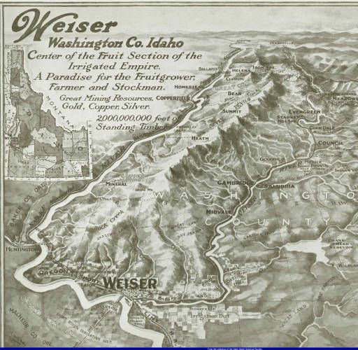 Weiser Idaho Map Rich S Hometown Now Departing For Idaho