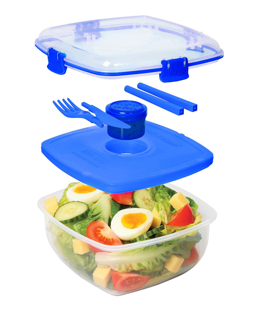 Clear & Blue Chill It ToGo Container Set Container set