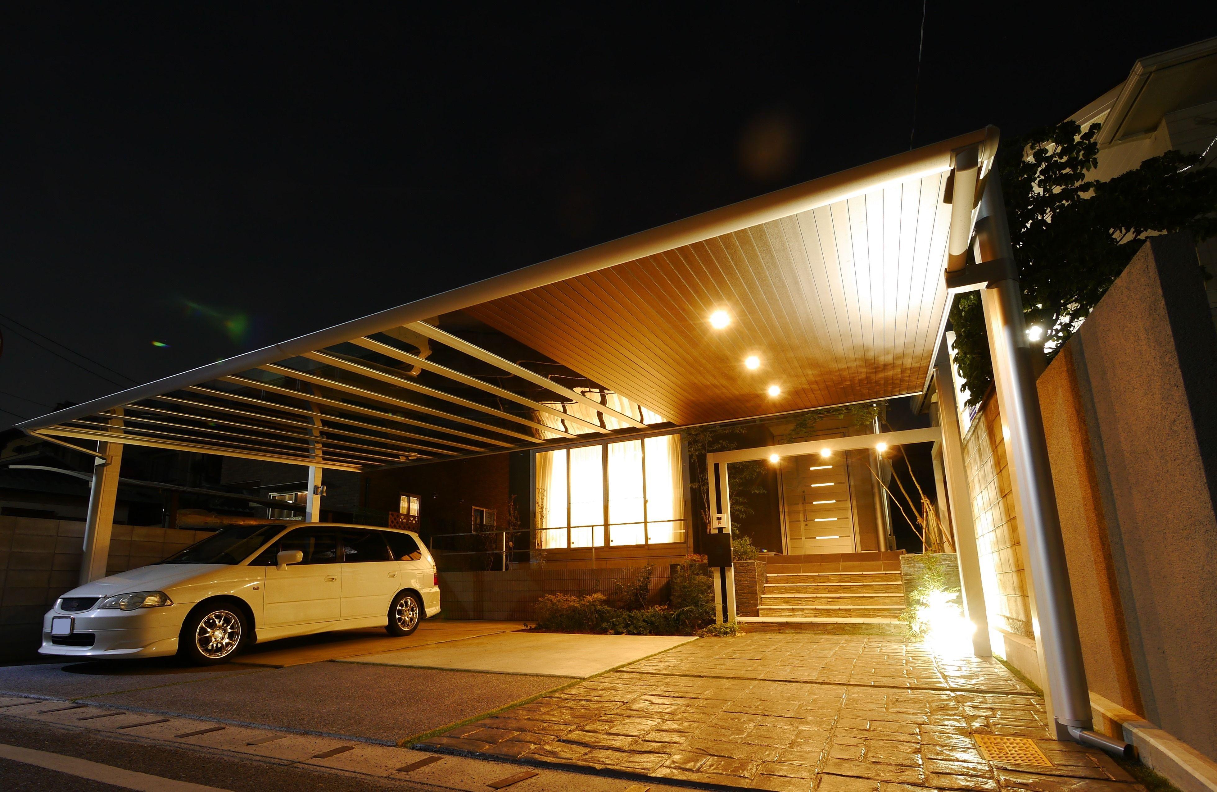 オシャレなカーポート 駐車場大特集 スタイリッシュなカーポート8選