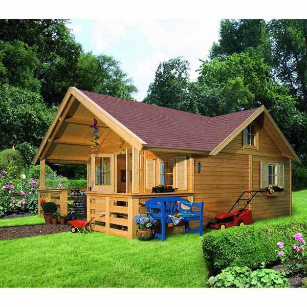 Maison de jardin en kit complet plancher 24 4m en bois certifi wonnesund karibu maison - Maison de jardin kit mulhouse ...
