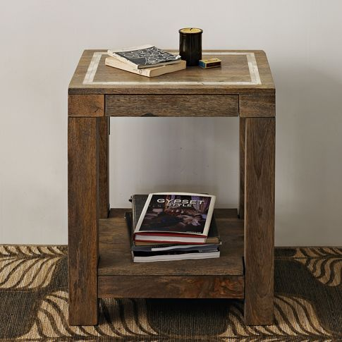 Parsons End Table Bone Inlay West Elm The Shus Home Wishlist - West elm parsons end table