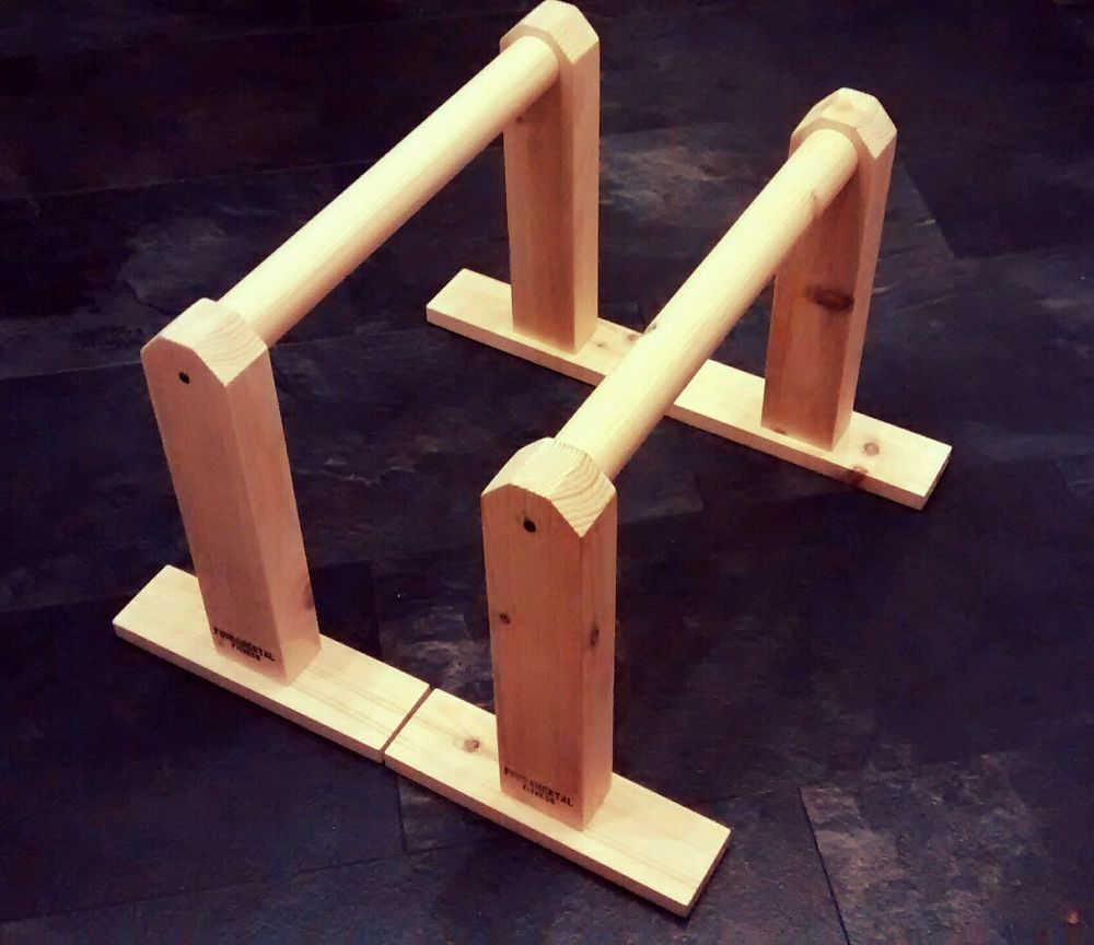 Details About Tall Gymnastics Parallettes Crossfit Mma