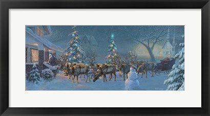 Christmas Travelers 1 at FramedArt.com