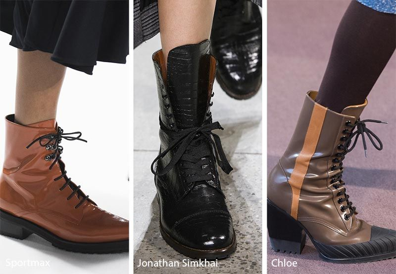 1d4fb03e66 Fall  Winter 2018-2019 Shoe Trends  Combat Boots