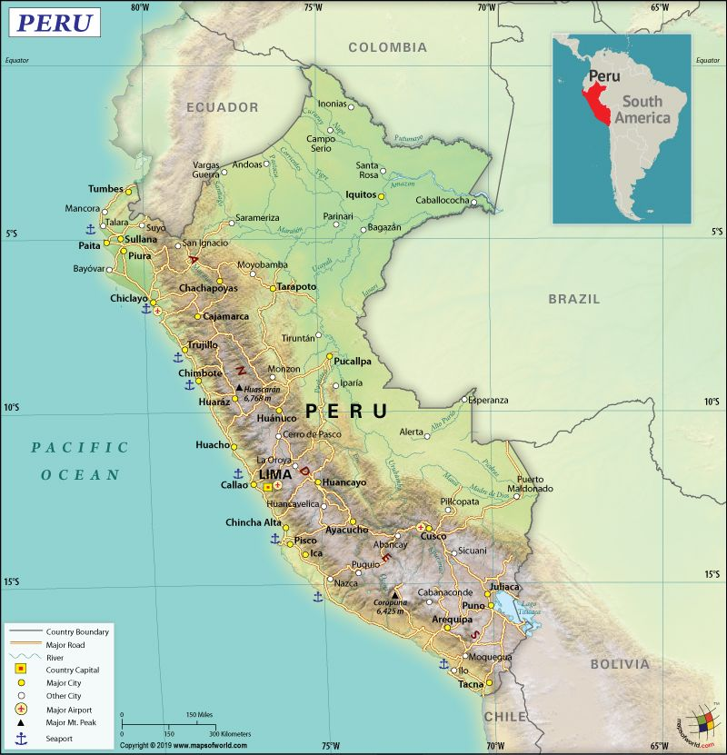 What Are The Key Facts Of Peru World Geography Peru South