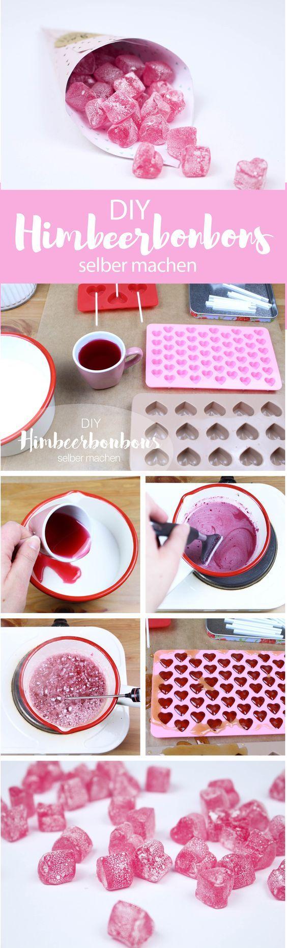 rezept himbeerbonbons einfach selber machen gummy bonbons selber machen bonbon und s igkeiten. Black Bedroom Furniture Sets. Home Design Ideas
