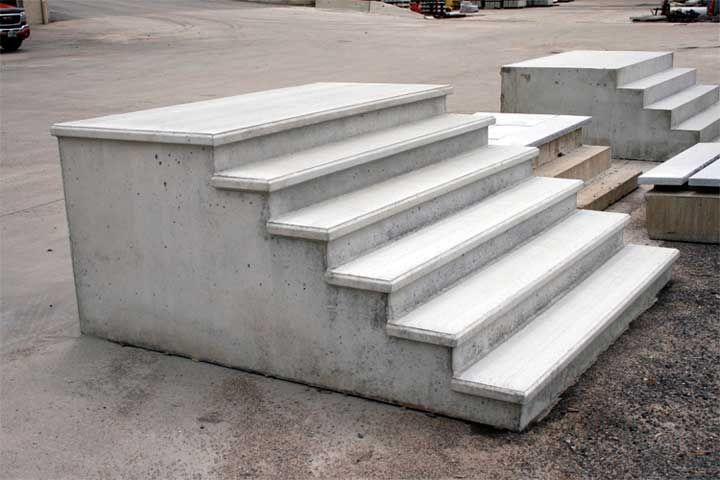 Homeowner Precast Products Precast Concrete Concrete Concrete Steps