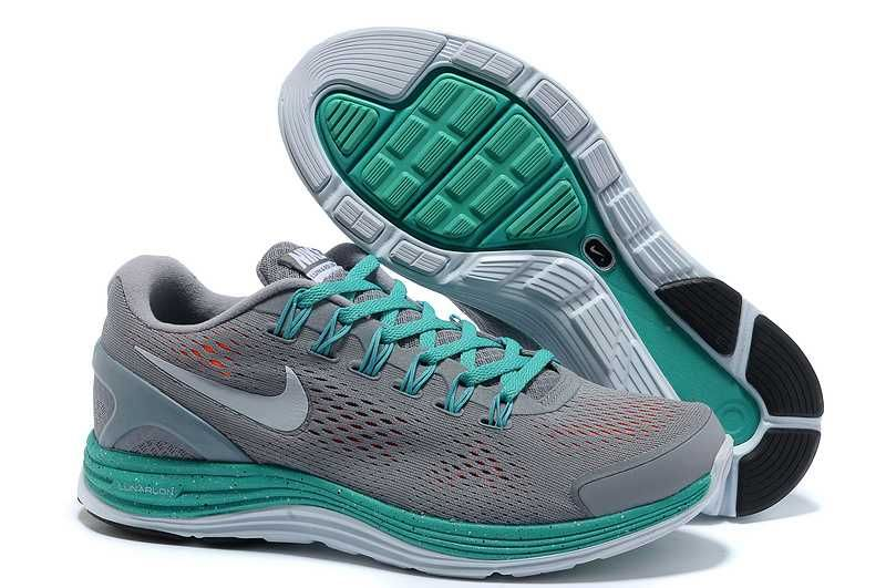 on sale 74eba 3ed1d https   www.sportskorbilligt.se  1479   Nike Lunarglide 4 Herr Jade Grön  Orange Grå SE614541LszyRtr