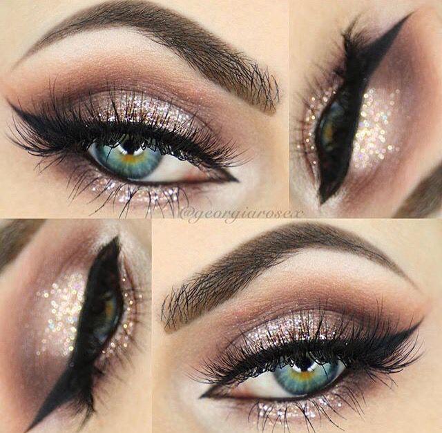 Rose Gold Event Makeup Dress Makeup Eye Makeup