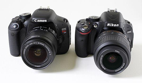 The Canon T3i vs. the Nikon D5100 | Photo & Design Resources ...