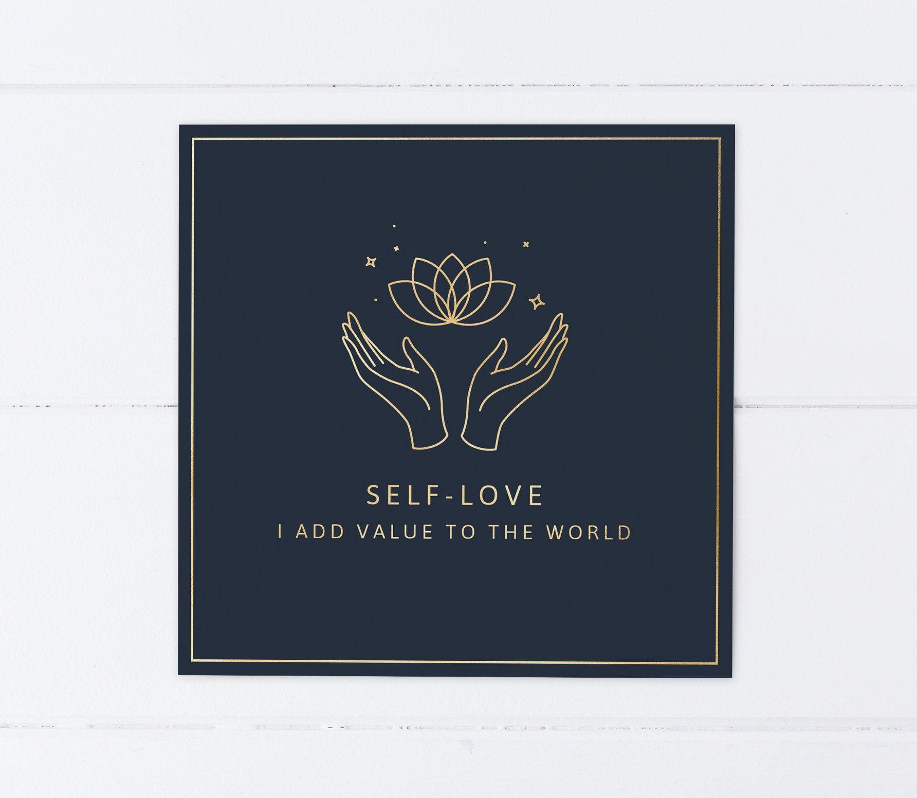 Self Love Affirmation Card