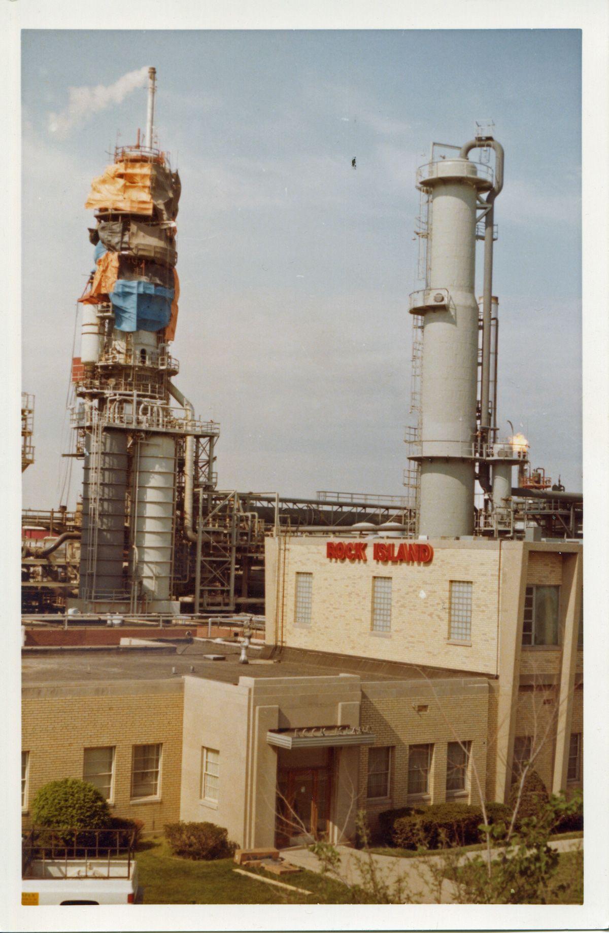 rock island; oil refinery; rock island refining; rock