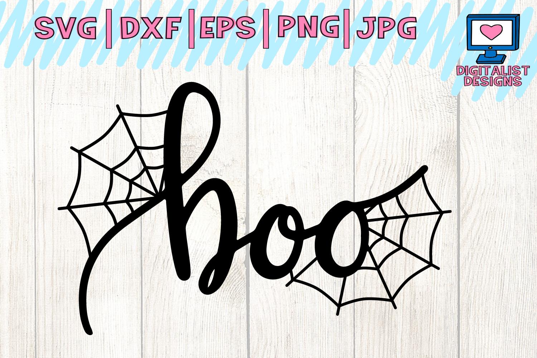 Halloween, boo, spider, cobweb, spiderweb, svg Cricut