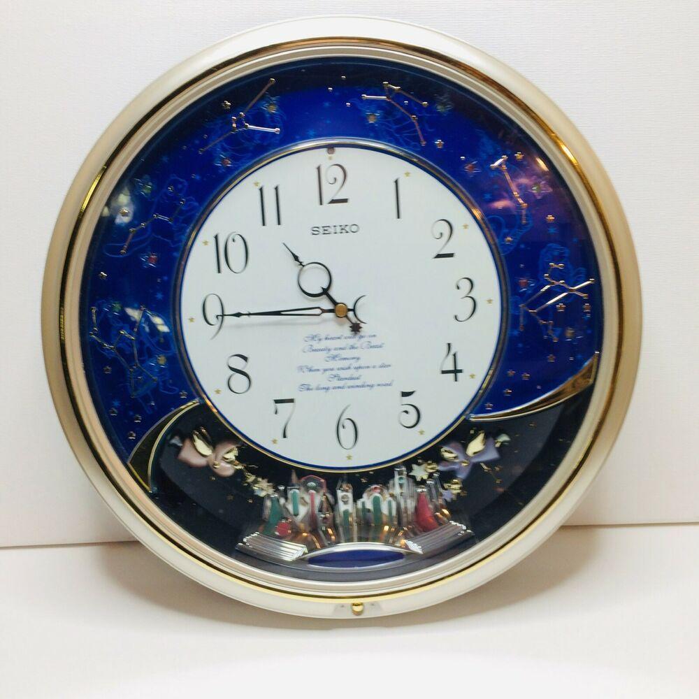 seiko musical melodies motion wall clock qxm325srh see on wall clocks id=53240