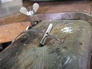 How to make cufflinks by Justin Siow #process #cufflink #silver