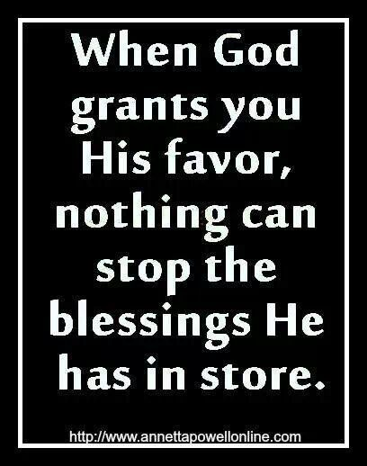 Gods Favor Inspirational Quotes Gods Favor Quotes About God