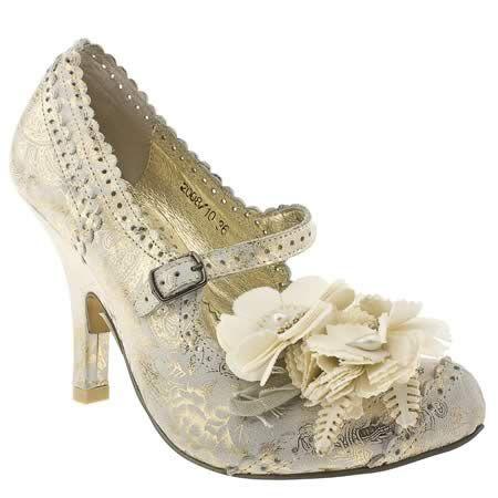 Vintage Style Wedding Shoes Look Like Irregular Choice The