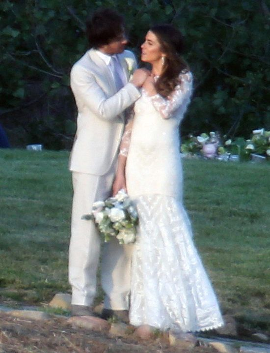 Relive Ian Somerhalder And Nikki Reed S Breathtaking Wedding Ian Somerhalder Wedding Nikki Reed Wedding Wedding Gowns Lace