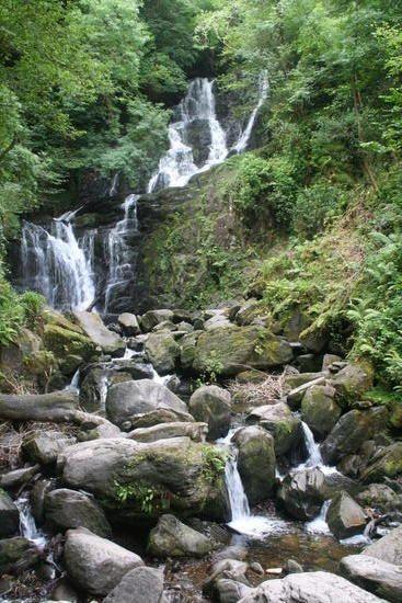 Torc Falls, Killarney, Ireland