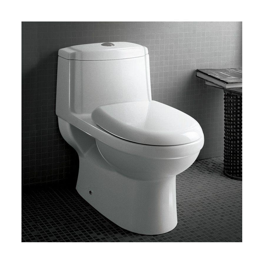 Standard toilet seat dimensions  Platinum Anna Dual Flush Elongated OnePiece Toilet  Bathroom Ideas