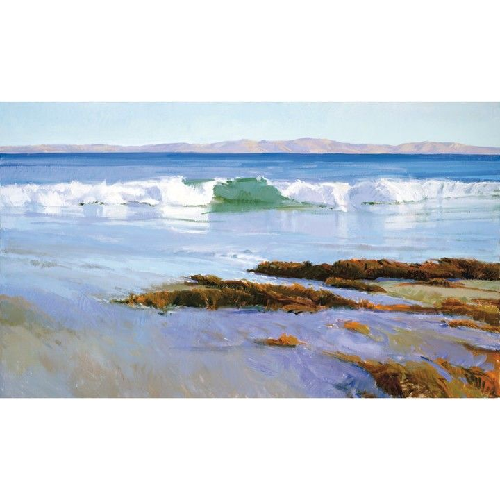 After Rain, Goleta Beach giclée from Marcia Burtt Gallery for $60 on Square Market