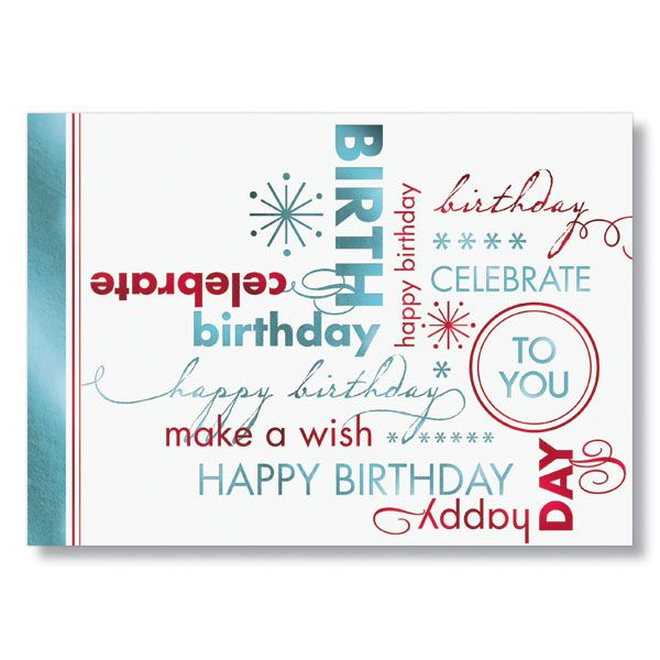 Corporate Birthday Cards My Birthday Pinterest Card Birthday