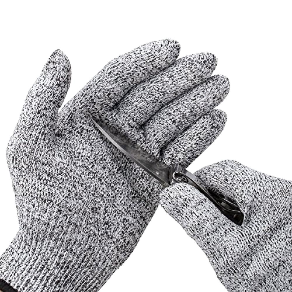 Showtop 2 Pairs Premium Cut Resistant Gloves Level 5 Protection
