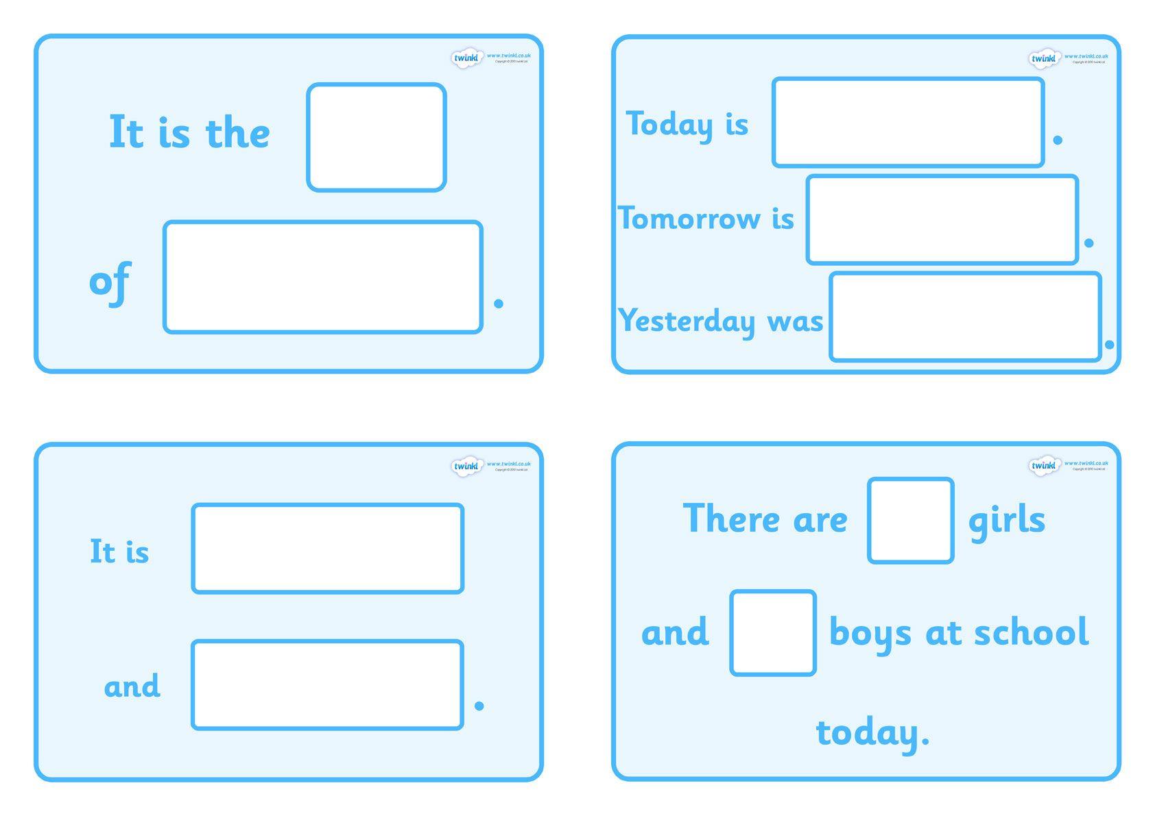 Daily Calendar Story Calendar Math Interactive Classroom Calendar Skills Twinkl adding digit numbers with
