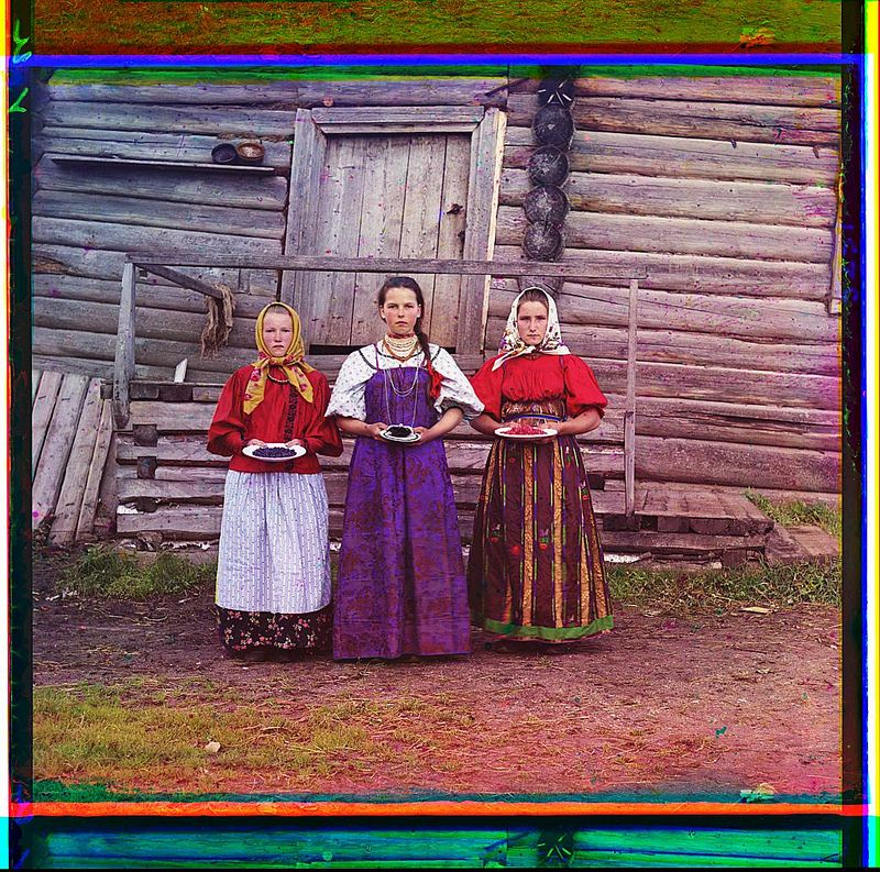 Here's a hearty toast to Sergei Mikhailovich Prokudin-Gorskii--the master of early color photography in Russia, on the occasion of his 150th birthday, August 30, 2013!