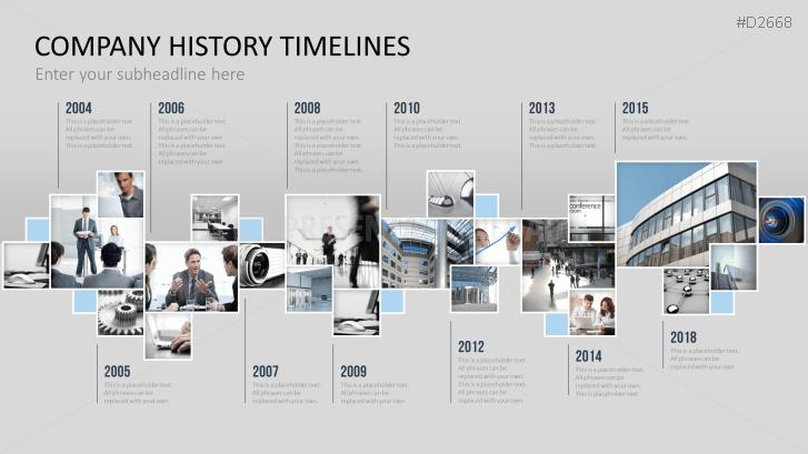 Company Timeline Template from i.pinimg.com