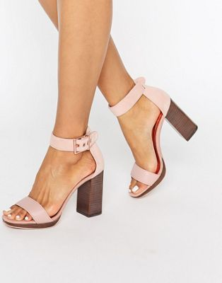 0fb271d4e91a Ted Baker Lorno Suede Block Heeled Sandals
