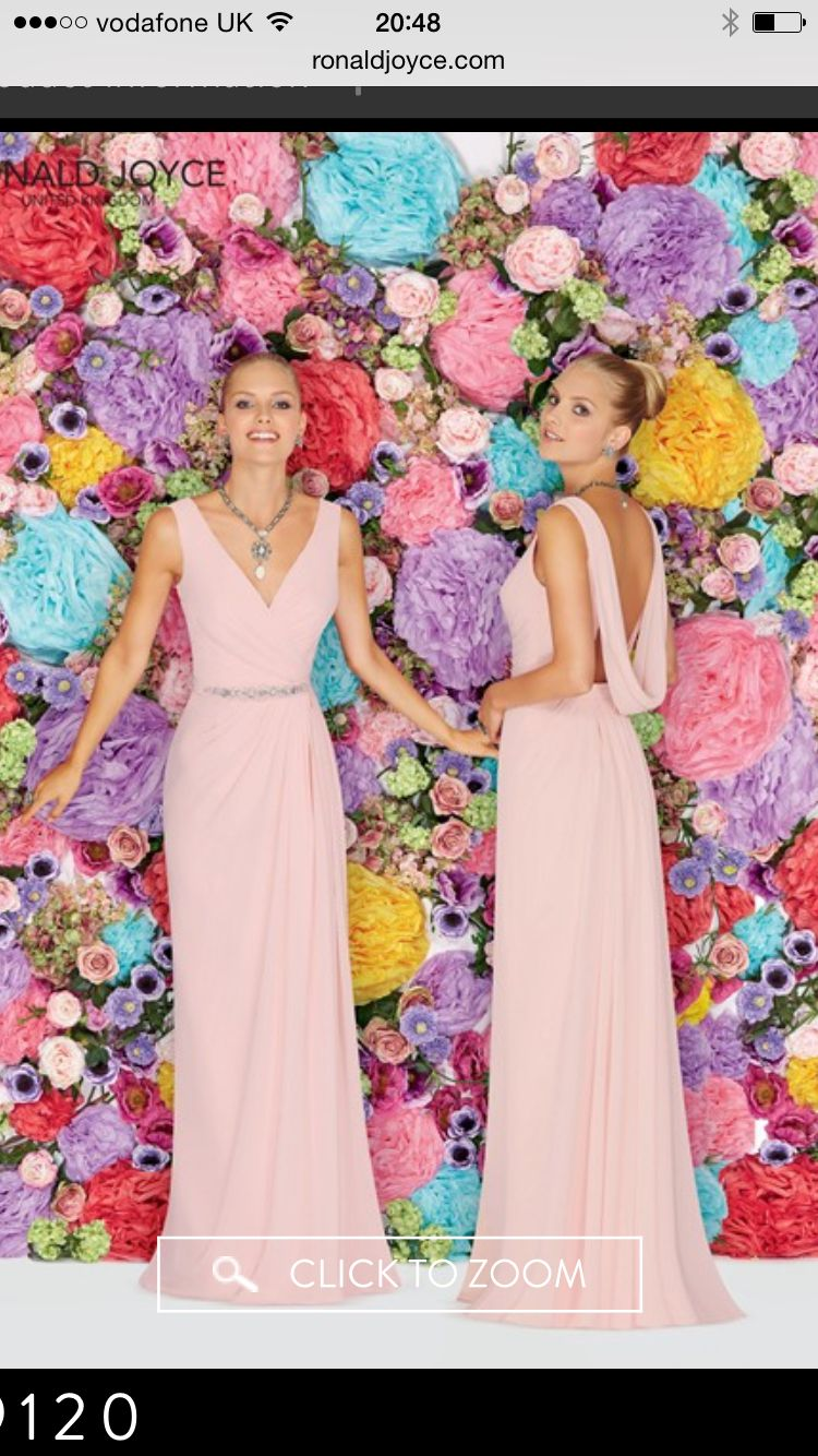 Ronald Joyce bridesmaid dress Irelands only Premier stockist for ...