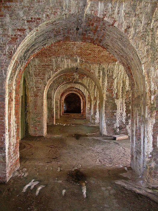 Ft Morgan By Donald Hawkaye Hill Hiking Trip Gulf Shores Alabama Fort Morgan
