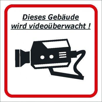 Videoüberwachung Schild Videoüberwachungs Schild Pflicht