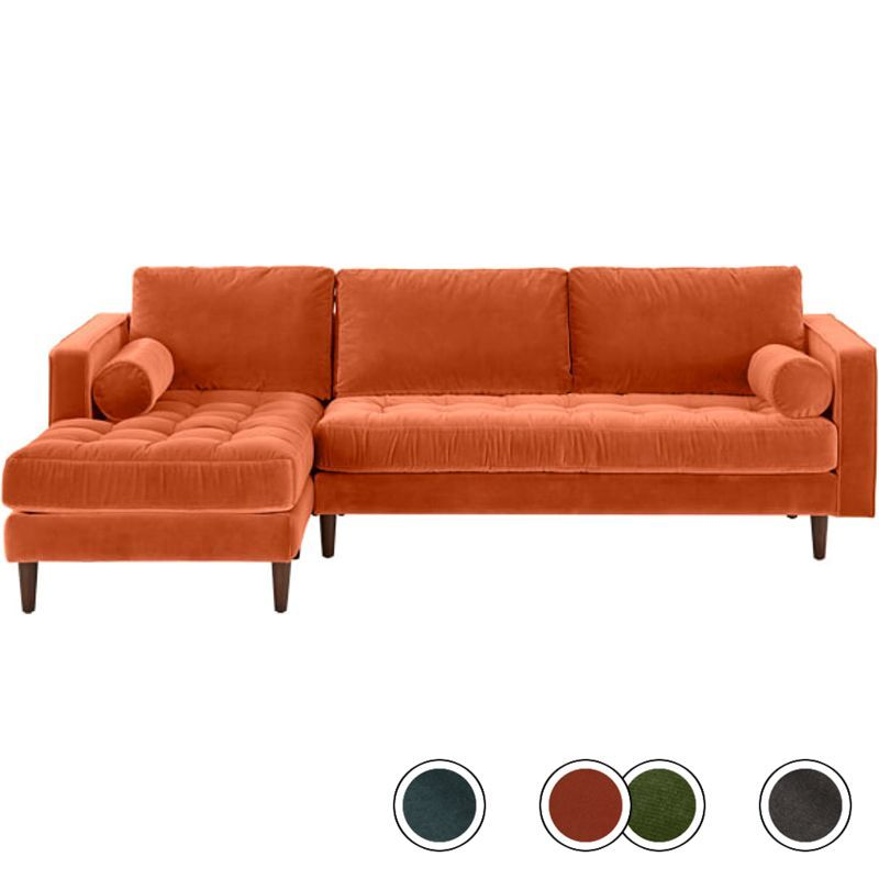 Stupendous Scott 4 Seater Left Hand Facing Chaise End Corner Sofa Pabps2019 Chair Design Images Pabps2019Com