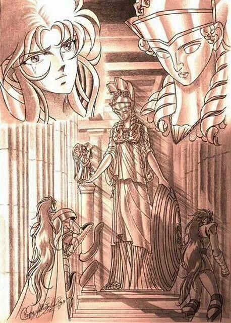 Saga y Kanon de Géminis.