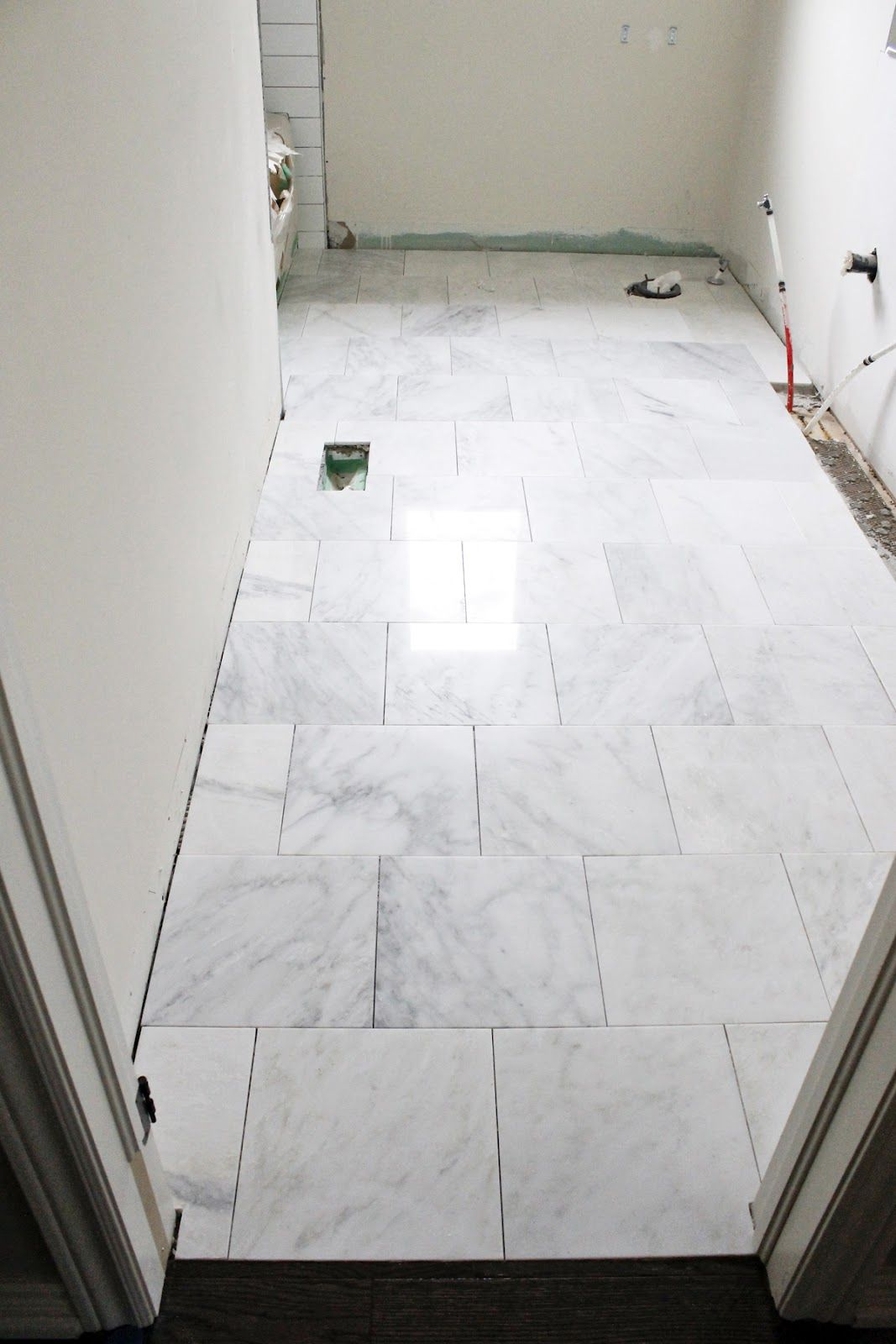 Brick Pattern Marble Floors Tile Floor Tile Bathroom Bathroom Floor Tiles