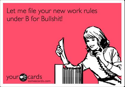 No Hookup Policy At Work Legal