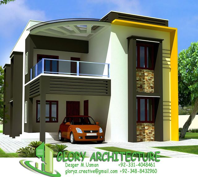 Home Design Exterior Ideas In India: 25x50 House Elevation, Islamabad House Elevation, Pakistan