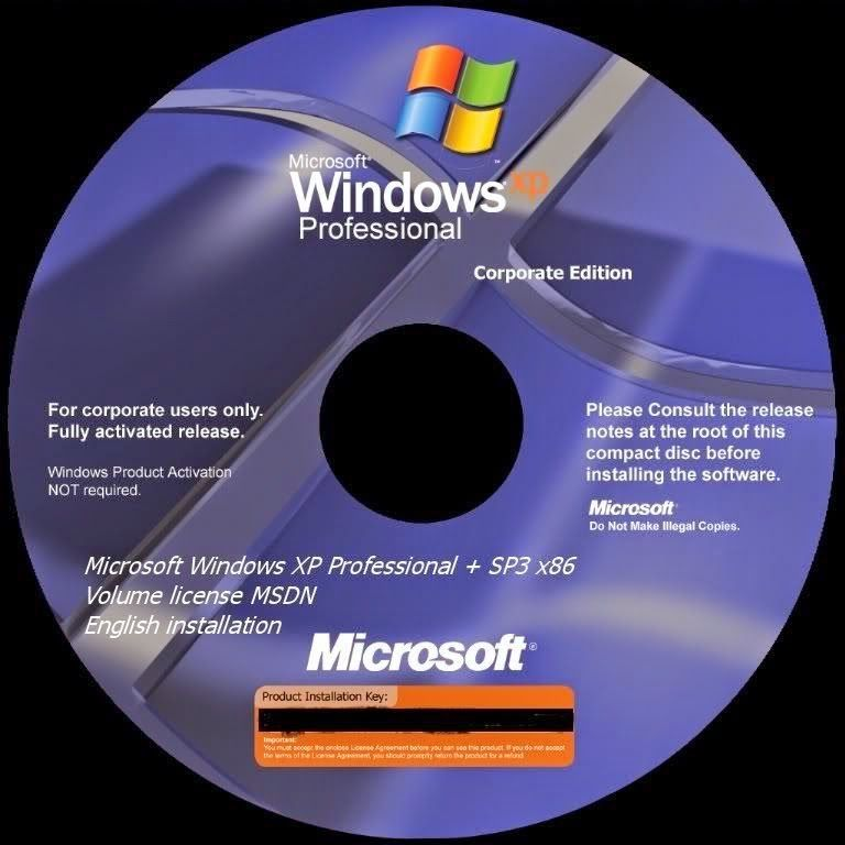 Загрузочный iso образ windows xp professional sp 3 торрент.