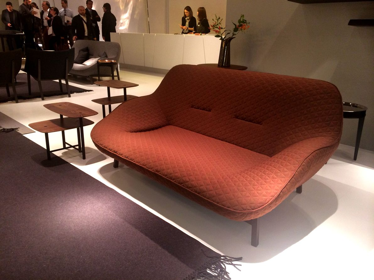 ligne roset s stunning new cosse sofa on show at imm cologne for rh pinterest com