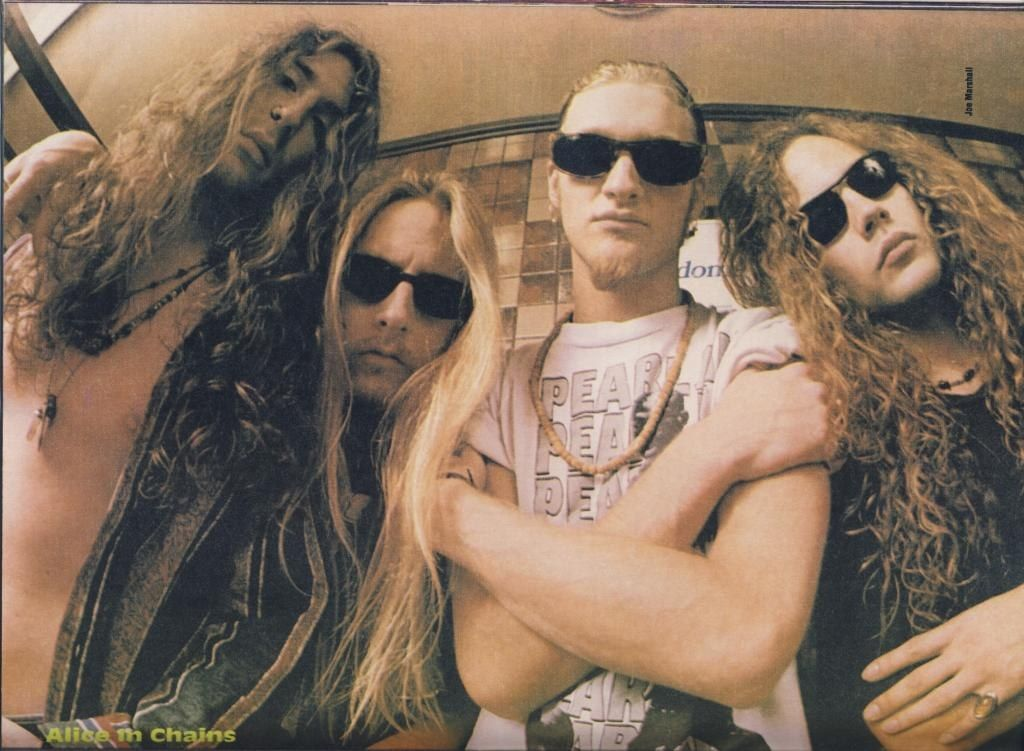 Alice In Chains Alice In Chains Mike Starr Layne Staley