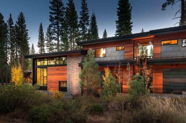 Modern Mountain Living Truckee California Luxury