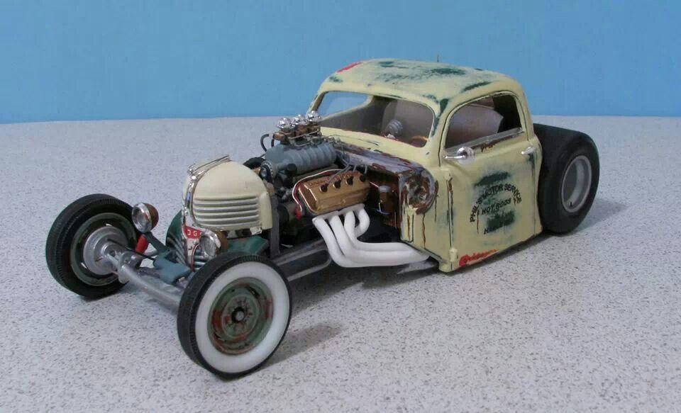 Custom Hot Rod Model Cars. Modeling crap Pinterest