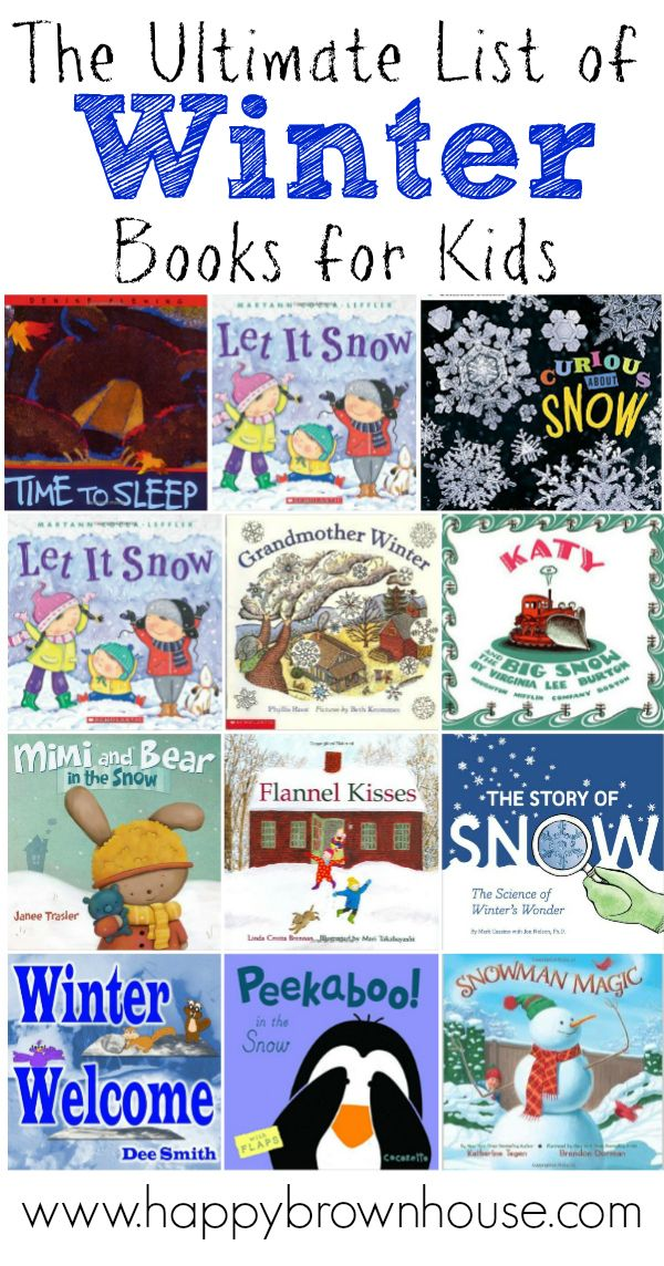 The Ultimate List of Winter Books for Kids