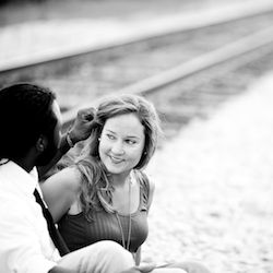 This couple started dating in high school, so we returned for their engagement session.
