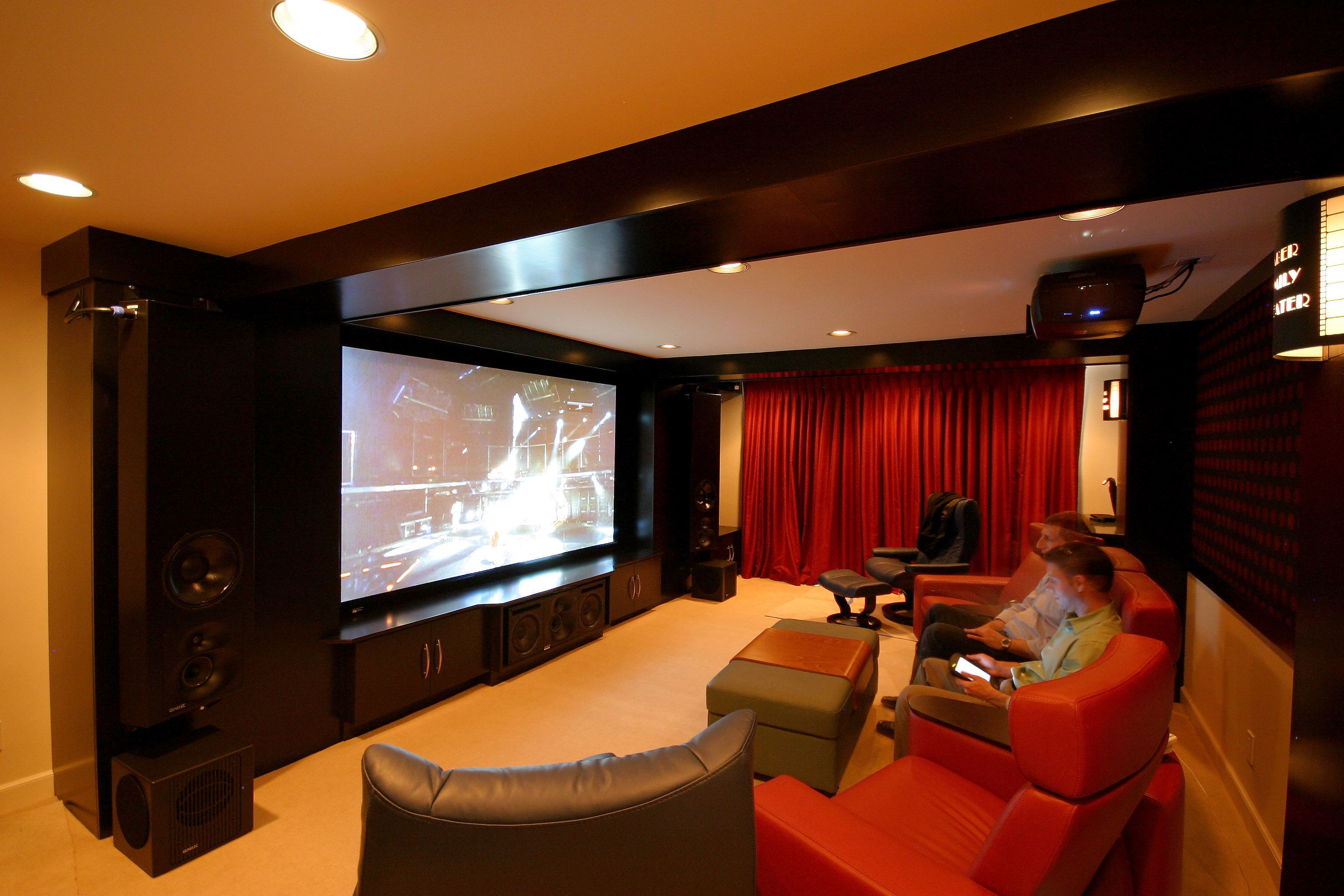 How to make home theater room - 15 Awesome Basement Home Theater Cinema Room Ideas