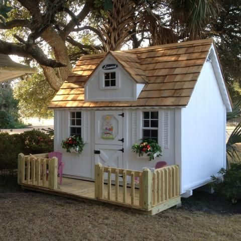 Children S Wooden Playhouses Forts Leonard Buildings Truck Accessories Backyard House Play Houses Backyard Playhouse