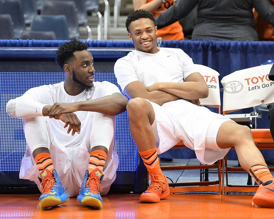 Syracuse Players Rakeem Christmas And Ron Patterson Chat